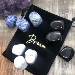 Dream Journey crystals set for relaxation 4 mind